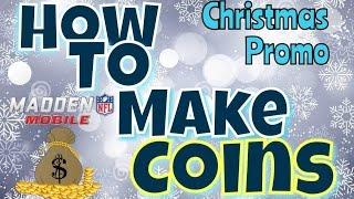 getlinkyoutube.com-Madden Mobile 16 | Christmas Promo | Madden Mobile How to Make Coins