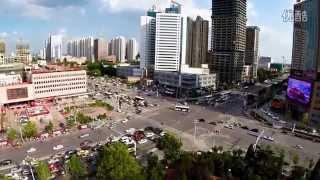 getlinkyoutube.com-唐山风光(航拍市区一角)-Tangshan China
