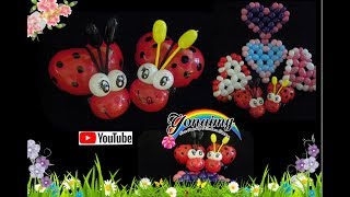 getlinkyoutube.com-COMO HACER UNA CATARINA O MARIQUITA.- HOW TO MAKE A LADYBUG