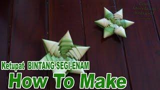 getlinkyoutube.com-Cara Membuat Ketupat Bintang 7 dan 6 dari Daun Kelapa