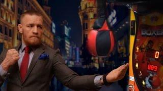 getlinkyoutube.com-Conor McGregor vs Jon Jones - Punching Machine