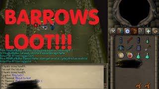 getlinkyoutube.com-Oldschool Runescape - OMFG BARROWS LOOT!?! | 2007 Servers Progress Ep. 20