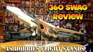 360 Swag Review : Custom GI Joe Flight Stands By TS Hobbies