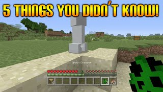 getlinkyoutube.com-★Minecraft Xbox 360 + PS3: 5 Cool Survival Things You Didn't Know You Could Do In Minecraft★