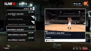 NBA LIVE 16 BEST JUMPSHOT ANIMATIONS FOR PRO AM SUMMER CIRCUIT AND LIVE RUN