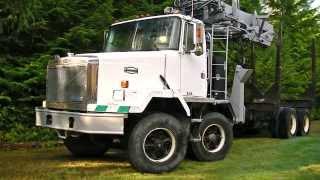 Autocar Logging Truck