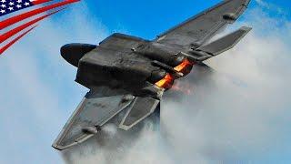 getlinkyoutube.com-F-22 Raptor Stealth Fighter Amazing Aerobatics Demo Flight - ステルス戦闘機F-22ラプターの凄い機動力のアクロバット・デモ飛行