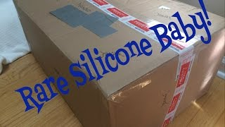 Silicone Reborn Baby Doll Box Opening! Fake Baby Doll!