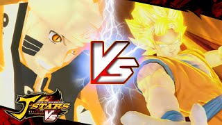 getlinkyoutube.com-Naruto VS Goku | J-STAR VICTORY VS+「Jスターズ ビクトリーバーサス」