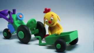 getlinkyoutube.com-ClayPlay - Play Doh Stop Motion Animation - Tractor Episode