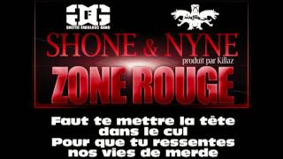 Shone - Zone Rouge (ft. Nyne Diantre)