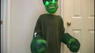 getlinkyoutube.com-Hulk Jr. cleans her room