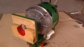 getlinkyoutube.com-Utensile multifunzione da banco con motore lavatrice