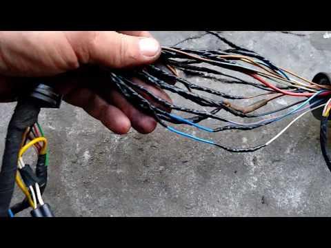 Vw t4 ремонт дверной проводки
