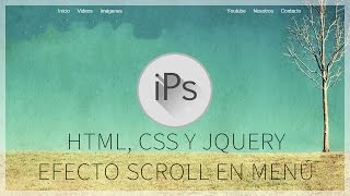 getlinkyoutube.com-tutorial html, css y jquery | menu dinámico con efecto scroll