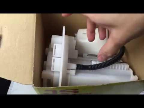 Замена топливного фильтра Toyota Corolla 2011г