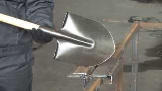 getlinkyoutube.com-Производство лопат из рельсовой стали, процесс производства лопат из рельсовой стали
