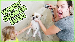 getlinkyoutube.com-😂  WILL FRANCO THE FRENCHY SURVIVE THE WORST SHOWER EVER!?! 😀  OPERATION GET THINGS DONE DAY! 😂