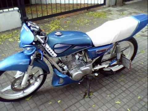 motos tuning. uruguay al corte. gts street cg gs strong c110 y mas...