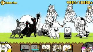 getlinkyoutube.com-The Battle Cats - Godiego Pass