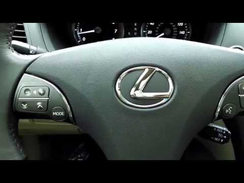 Lexus ES350 - How to Set Memory Seat Wheel