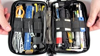 getlinkyoutube.com-Survival Kit Tools/ Pt. 1 (of 3) Pocket Organizer-  MAXED OUT