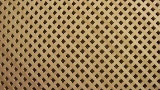 Простое изготовление решетки из дерева