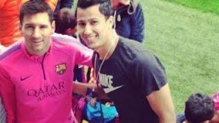 "getlinkyoutube.com-#حصاد_النهار | حصرياً | تصريحات عمرو جمال بعد العودة من اسبانيا | قصة لقائة مع ""ميسى"""