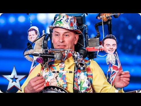One man band Tony Allen wants to make you smile | Auditions Week 2 | Britain's Got Talent 2017