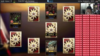 getlinkyoutube.com-Seven Knights - 500 RUBIES SUMMON & GUILD WAR ~ !