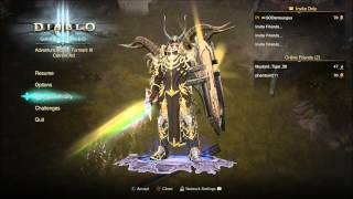 getlinkyoutube.com-Diablo 3 Hacked weapons ? / powerful character / 13million Damage / Duplicate items