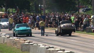 getlinkyoutube.com-AZN Dung Beetle  Wheelstand -vs- Mustang