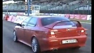 getlinkyoutube.com-Alfa Romeo 3.0 V6 Vs. Alfa Romeo 156 2.5 V6 Drag Race