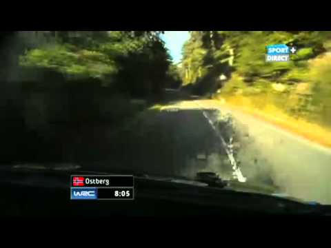 WRC France Alsace 2012 - SS2 Hohlandsbourg-Firstplan 1 (live TV)
