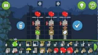 getlinkyoutube.com-Bad Piggies Air Racing in Field of Dreams (Custom Vehicles)