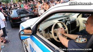 getlinkyoutube.com-NYPD harassing Lamborghini Batventador