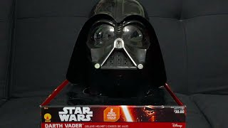getlinkyoutube.com-Darth Vader Rubie's Costumes Two-Piece Helmet Review