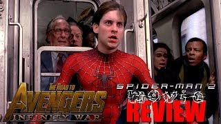 Spider-Man 2 Movie Review (The Road to Infinity War Part 16) width=