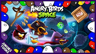 COLOR SURPRISE EGGS ANGRY BIRDS SPACE ANIMATED | LEARN COLOURS | Juniors Toons | #AngryBirdsMovie
