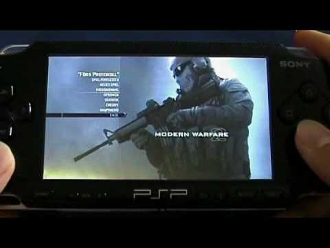 PSP: Call of Duty: Modern Warfare 2 Gameplay FAKE?!