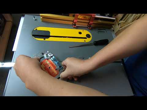 Adding an Incra Miter Gauge to the DeWalt 7491 Youtube Thumbnail