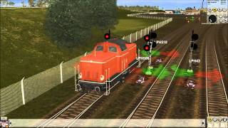 getlinkyoutube.com-Trainz 2007 Güterfahrten - #001