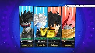 getlinkyoutube.com-Dragon Ball Xenoverse! The 2v2 GOD SQUAD! (DbzSim and Jrz Vs. Thundershot and Rhymestyle)