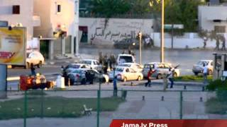 getlinkyoutube.com-Shoot Out Tripoli Libya تبادل اطلاق نار كثيف في طرابلس ليبيا