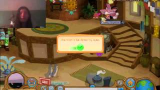 getlinkyoutube.com-MY DEN IS HAUNTED! - Animal Jam (30)