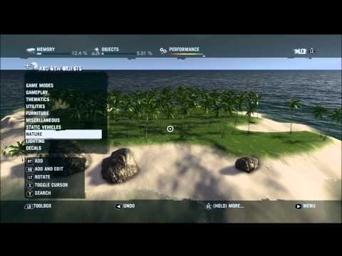 A look at the Far Cry 3 Map Editor