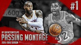 getlinkyoutube.com-LeBron James UNREAL Offense Passing Highlights 2015/2016 (Part 1) - Magic James!