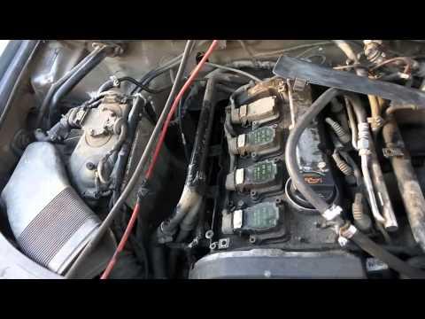 Расположение датчика положения педали газа у Audi RS 4 Avant