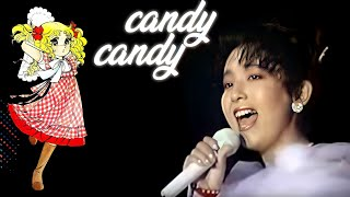 CANDY CANDY - Mitsuko Horie (Live 1989)