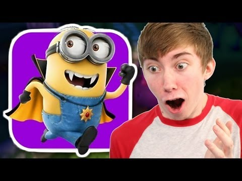 DESPICABLE ME: MINION RUSH - HALLOWEEN - Part 4 (iPhone Gameplay Video)